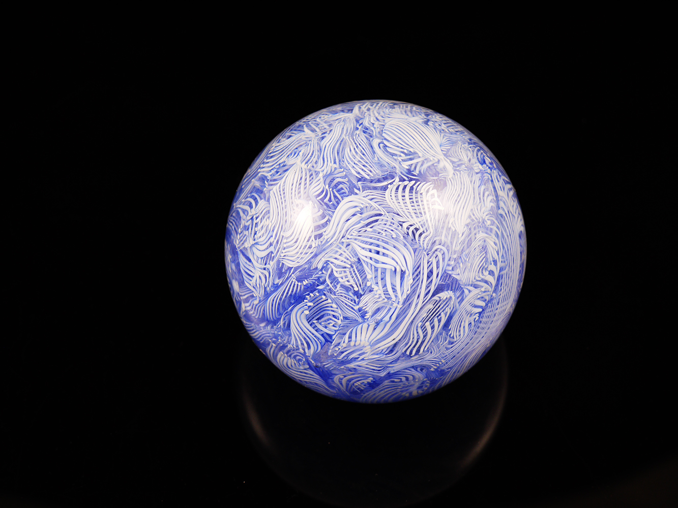 End of the day | Paperweight | Murano